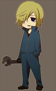 graham specter / baccano he rocks that blue jumpsuit!