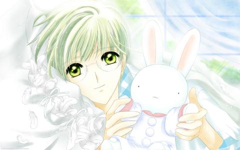 Well... Yukito, from Sakura Card Captor! I Amore him!