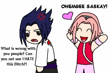 NOOOOOO!!!! PLEASE LET THAT ROSE BE POISON o SOMETHING, FOR THE Amore OF GOD PLEASE!!! SasuSaku IS THE WORST fan COUPLE IN THE HISTORY OF FANDOM!!! SAKURA NEEDS TO DROP DEAD!!!