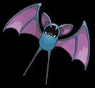 Zubat from the Pokemon series
