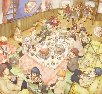 I upendo all of them but juu 5 are- 1. Otonashi-kun, 2. Yurippe, 3. Kanade-chan and Iwasawa-chan, 4. Hinata-kun and Yui-chan, 5. All others!
