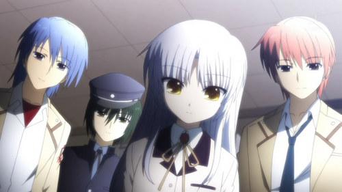 1.Hinata 2.Kanade 3.Yui 4.Otonashi 5.Naoi