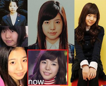 I'm sick of people who say that Sunny has got plastic surgery , esecially double eyelid p.s. ... Hello?! Sunny's eyelids are super small , you can mistake her for a monolidded girl , it's just her make-up that makes her eyes bigger . You can see Sunny's child photo - she has the same beautifully shaped lips , small eyelids and her nose is also the same !