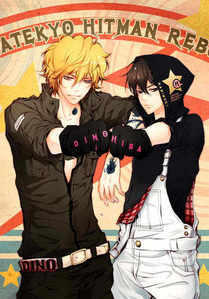 Hibari and Dino from KHR;p