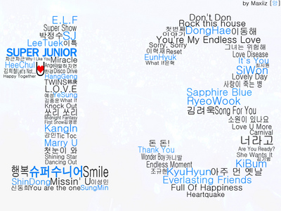 hey, being an ELF, we must support and 爱情 each member.. hating a member is not a true ELF..