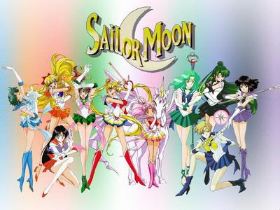 My first anime is Sailor Moon.