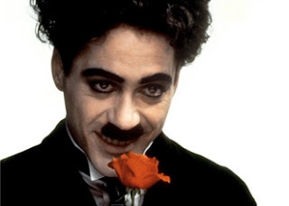 Robert as Charlie Chaplin is awesome, his best performance ever !
