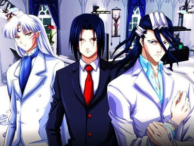Sesshoumaru, Itachi and Byakuya... They're so HOT!!