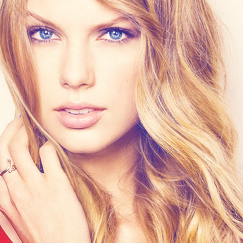 Taylor swift! She is ma inspiration and the woman that changed me once and I will never stop loving her!! I still have lotz too!