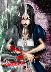 Definitely Alice Liddell. (American Mcgee's Alice.)