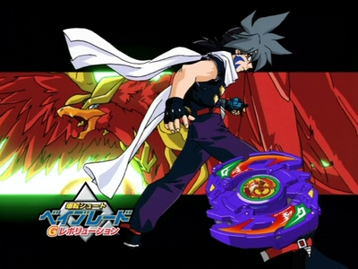 Kai Hiwatari from Bakuten shoot Beyblade! Don't know if he has any clue about it!