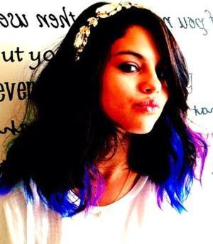 Mine..:)) Blue and Purple Highlights..:)