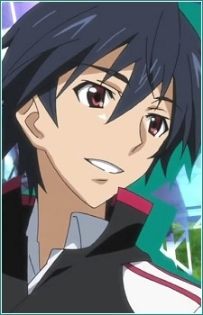 Ichika from Infinite Stratos. He has 5 girls after him but hes still clueless lol
