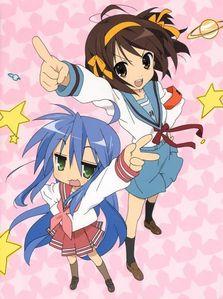 Haruhi Suzumiya and Lucky 星, 星级 X3