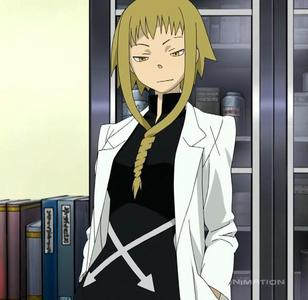 YOU'RE HORRIBLE! Commenting on my appearance like that! I don't have to listen to this from you! It's sexual harassment! I'm just secretly obsessed with herbal remedies, that's all! I just wanted to help Maka and Soul! I'm not a witch, just the school nurse!