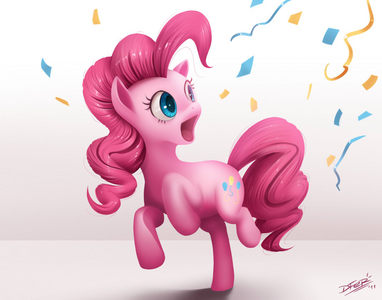 Pinky pie will help cheer it up! XD