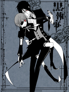 I'd marry Ciel Phantomhive, then make Sebastian my bitch. (^0^)