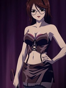 this is the math teacher in rosario vampire