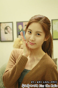 Seohyun (its actually hard for me to differentiate if seohyun have make up atau not because she usually only apply light makeup.not like the other members...)