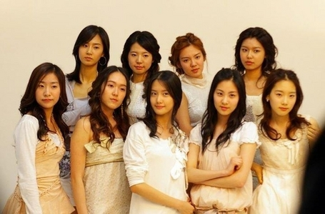 i just found snsd without makeup...