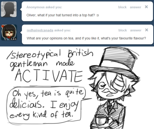 Yes, quite British