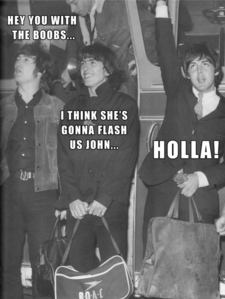 XD oh the beatles pag-ibig them