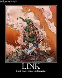 Link comes in my wake...