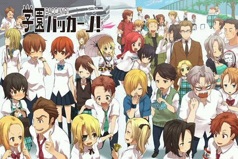 Baccano Characters With Pictures The Baccano Characters as