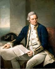 I'm related to Captain James Cook... :3 My great-great-great-(continue) Grandad from my dad's side. :)