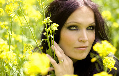 Tarja Turunen. :D I have a lot of other favorites, too, but so far she's stayed my absolute favorite.