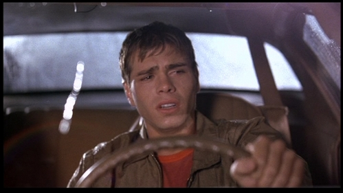 Matthew Lawrence in The Hot Chick looking sooo sad! He's really cute especially when he's upset.