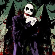 The Joker. [i]Why?[/i] [b]Bro, he's the joker. Nuff' said.[/b]