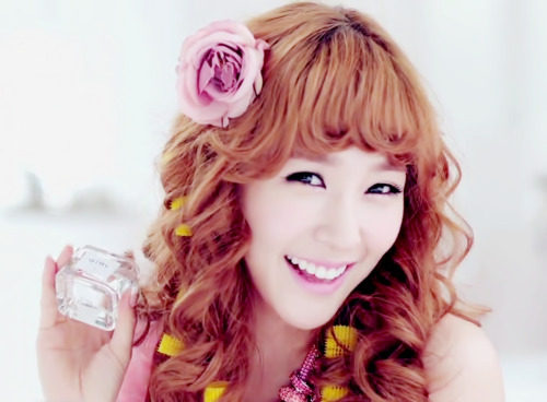 Tiffany cute smile