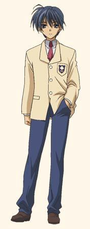Tomoya Okazaki, because he had a lot of problems with his father.