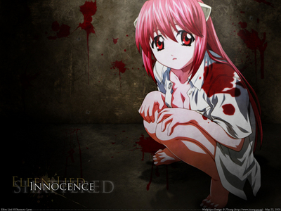 Lucy from Elfen Lied. Her backstory always makes me cry. She got bullied as a child for her horns, her only Friends betrayed her and killed her puppy, and the boy she had a crush on lied to her. She got locked away in a facility where she was experamented on and not treated like a human being.