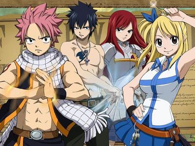Fairy Tail it's full of action and comedy