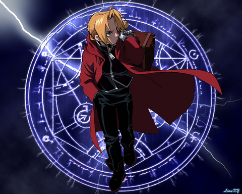 edward elric his dad walked out on him his brother and his mom his mom later died and then when he tried to bring her back he Lost his arm while his brother Lost his whole body and trying to bring his brothers soul back he Lost his leg
