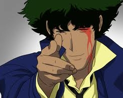 Hmm..Probably Spike from Cowboy Bebop he's quick,he's sly and he'd teach them never to try do something like that again!