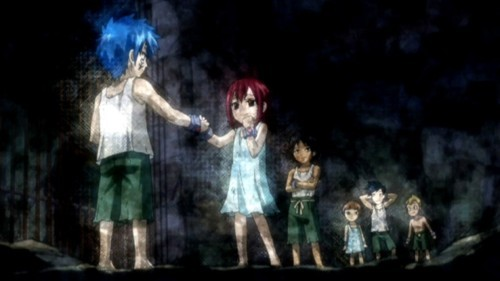 Erza Scarlet from Fairy Tail,her past was just as sad as Lucy's in my opinion.