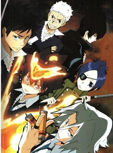 Katekyo Hitman Reborn <3 It will always be my favorite~ My other preferiti right now are Hetalia, Durarara!!, Clannad, Bakuman, Soul Eater, Fairy Tail, The World God Only Knows and Ao no Exorcist ^^