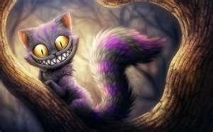 .. ... ..YAY, I'M THE CHESHIRE CAT!!!!