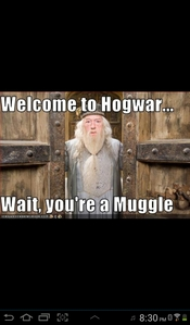 Ha ha,u must not be very eduamacated in harry potter my friend Hufflupuff is a house group in harry potter U must be a muggle...