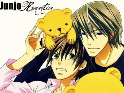 """I`m Usagi and Misaki from """"Junjo Romantica""""... AWESOME! There my Favorit couple! :D"""