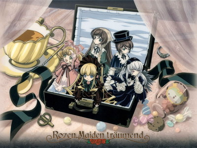 """i don't know why but when i think of """"Roses"""" Rozen Maiden pops into my head"""