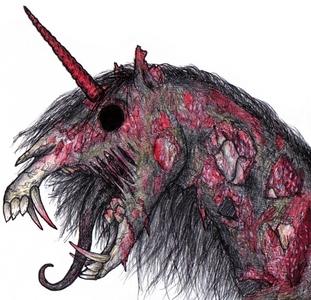 *le has a pet genderless zombie unicorn* no lD