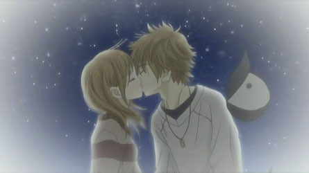 Nanami and Yano from Bokura ga ita (we were there) Sorry they're already kissing, but I just loved the picture! <3