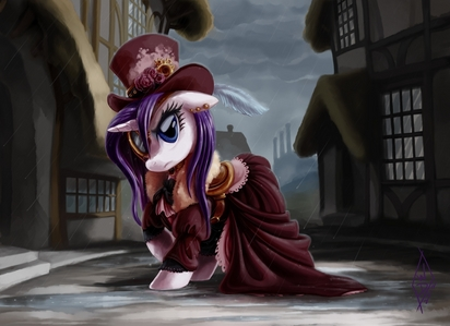 Yet another post that I don't know how to respond to, so I'll post steampunk rarity again.