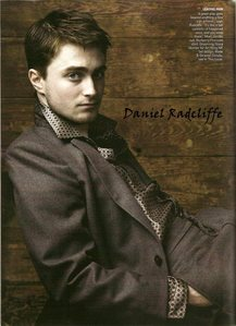 no, i dont think so.. Daniel Radcliffe the only one
