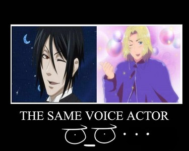 Anime Characters With The Same Voice Actor English And Or