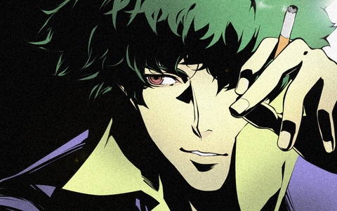 Spike Spiegel I wana be the laid back badass that just doesnt give a fuck